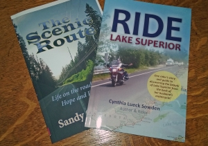 Ride Lake Superior as it should be, on the right, and with someone else's cover on the left.